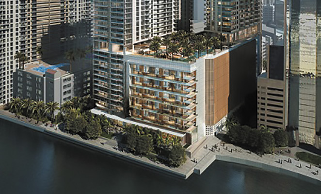 61 Story Residential Tower On Brickell Bayfront Advances