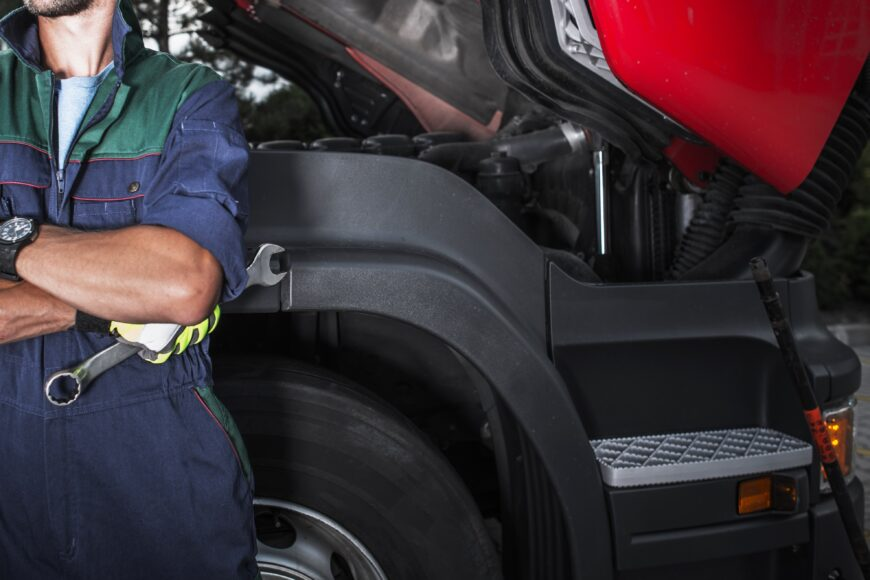 industrial heavy duty truck exhaust radiator repair park muffler