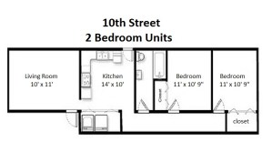 Two Bedroom Standard Style (#03)