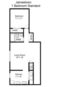 One Bedroom Deluxe – 2nd Floor (#07)