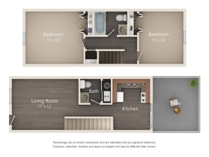 Two Bedroom Designer Series (#30)