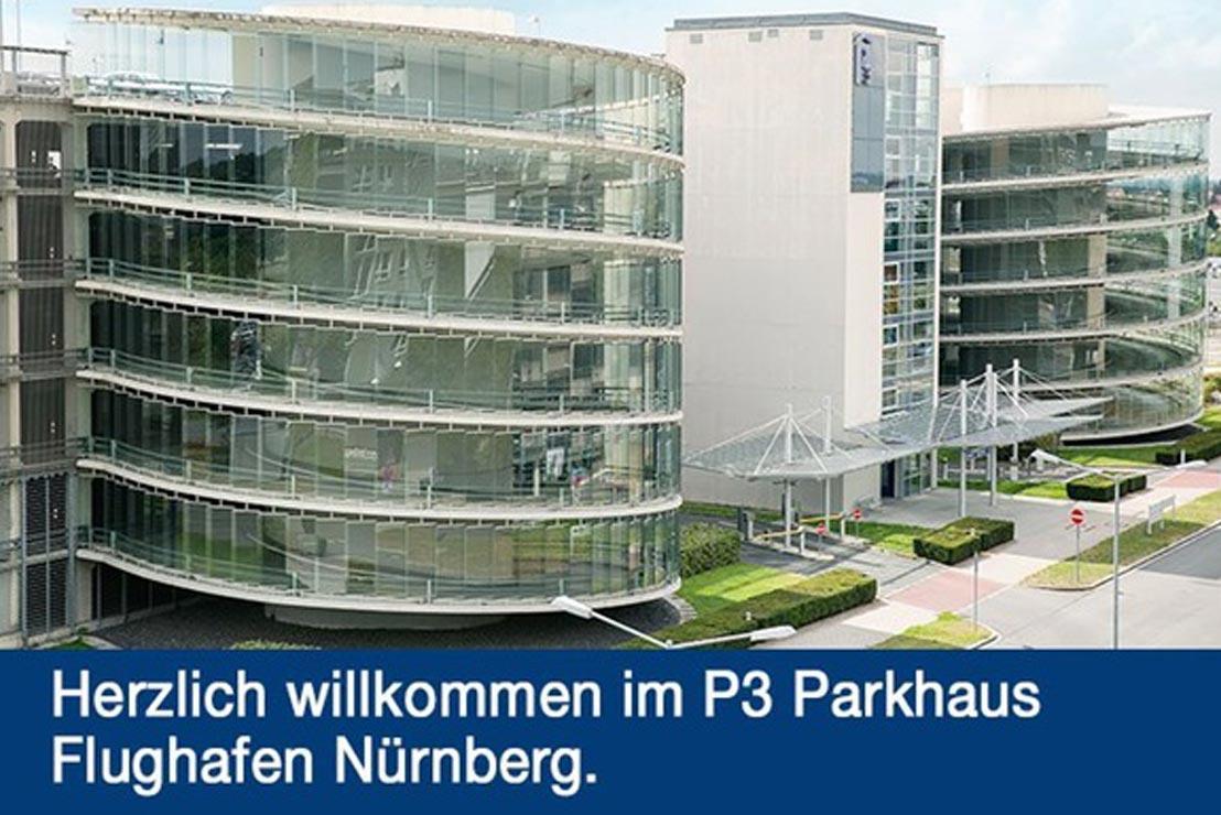 Gunstig Parken Direkt Am Flughafen Nurnberg Im P3 Parkhaus
