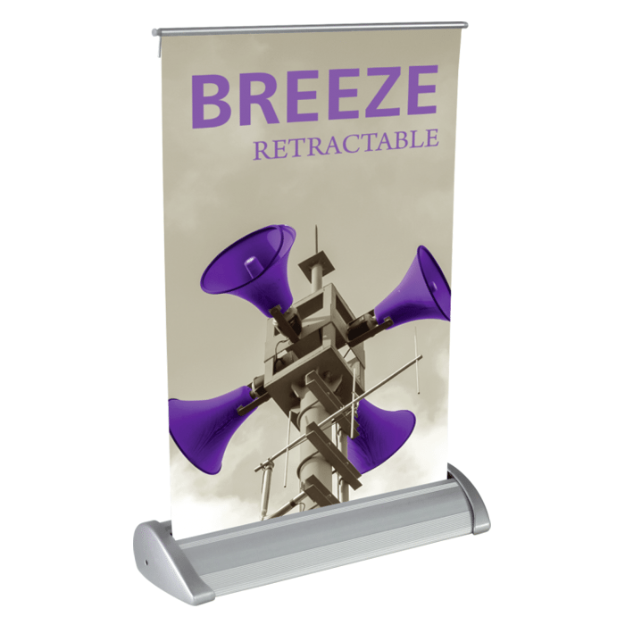 Breeze and Stellar Retractable Banners