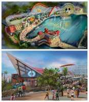 Pixar Pier to Replace Paradise Pier - Sneak Peek!