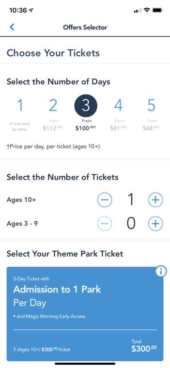 Can Disneyland Tickets Be Purchased On The Mobile App