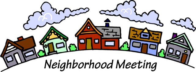 Monthly Meeting Reminder Park View Manor Homes