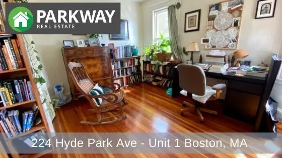 224 Hyde Park Ave – Unit 1 Boston, MA – RENTED