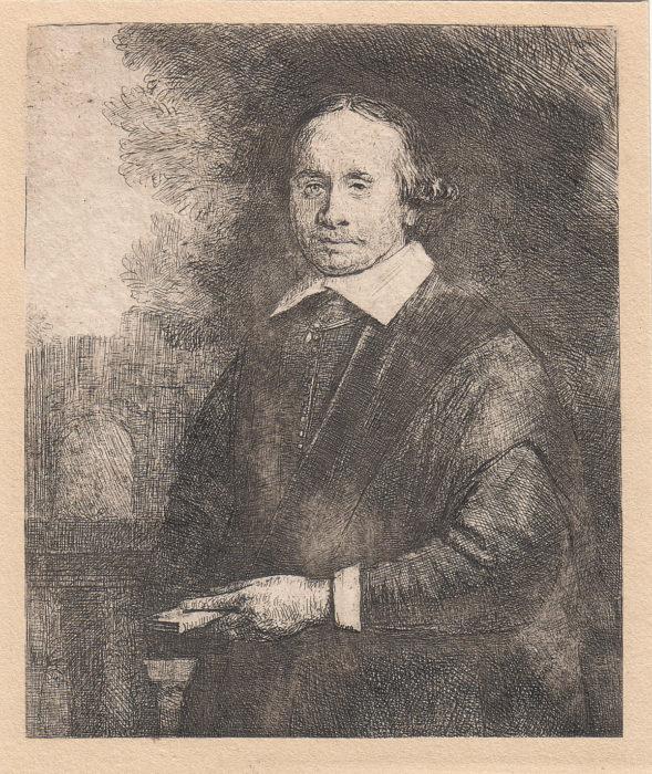 """""""Jan Antonides van der Linden, Physician"""" (1665), Rembrandt van Rijn Park West Gallery"""