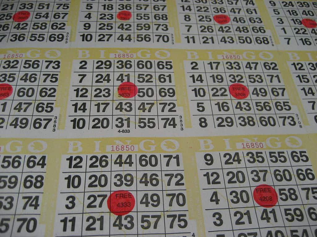 Bingo – 16 September