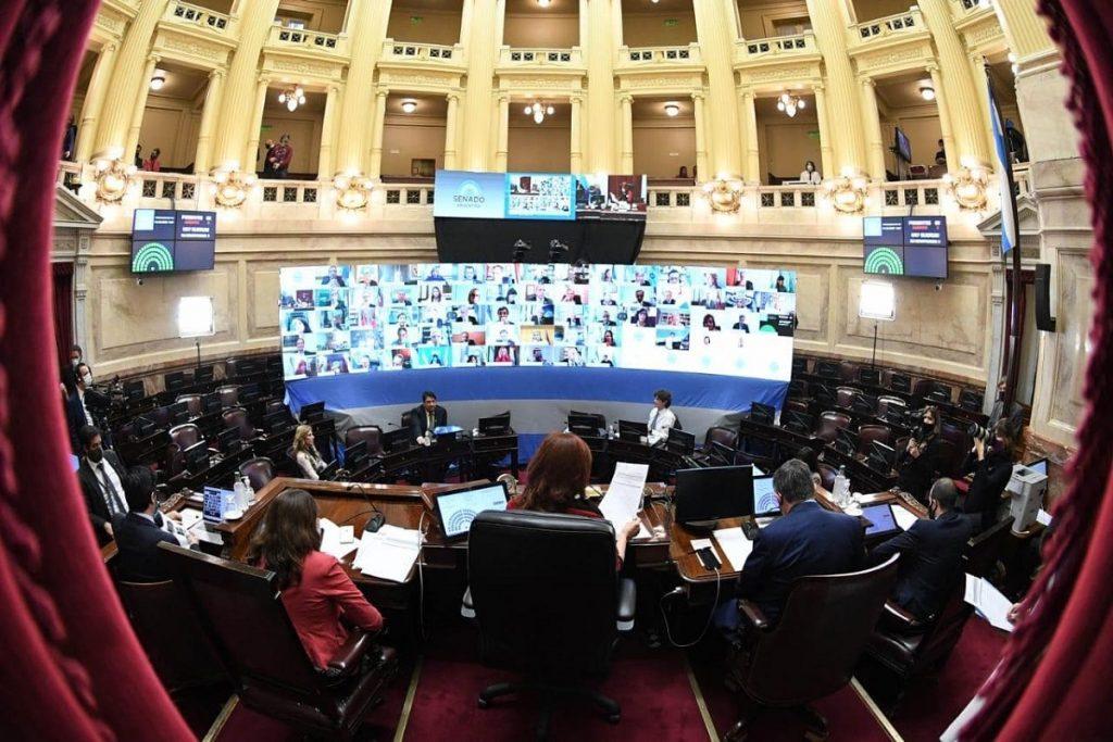 sesion virtual recinto senado 21 de mayo