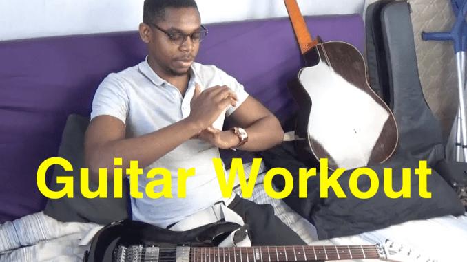 Entrainement guitar à la maison