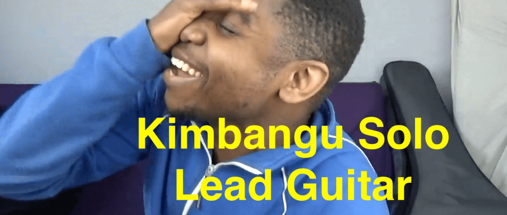 How to play guitar like Kimbangu