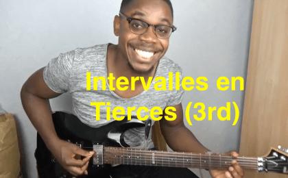 Comprendre les intervalles à la guitare