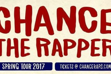 Chance The Rapper Tour