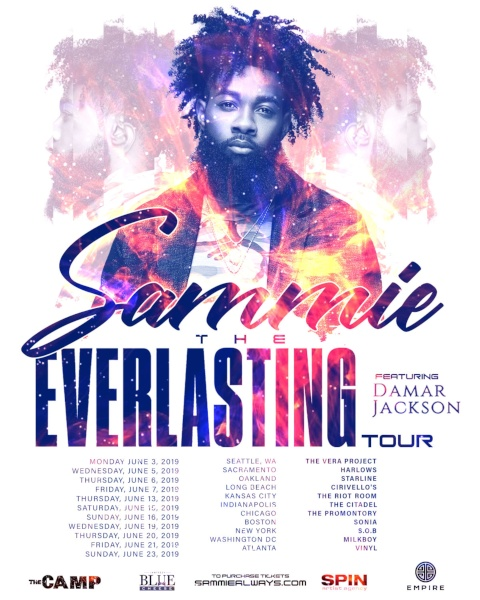 sammie the everlasting tour flyer