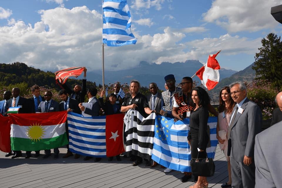Quelques Nations membres de l'UNPO