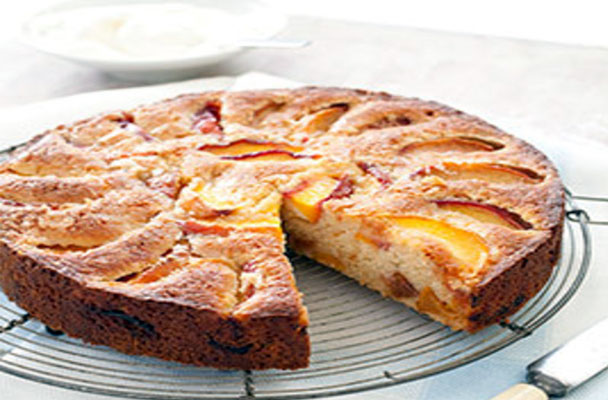 torta-di-pesche-amaretto