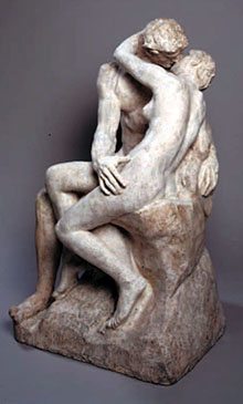 Auguste Rodin, Il Bacio, 1888-1889, marmo.
