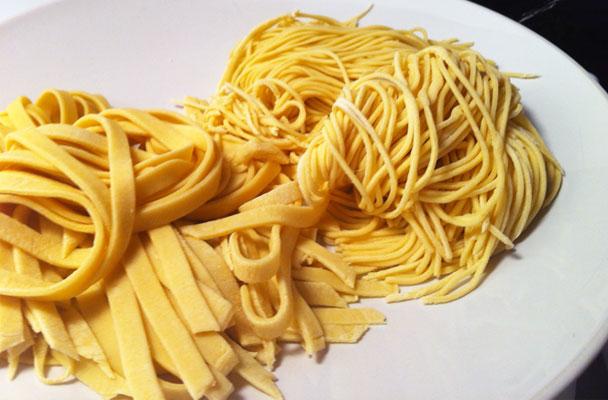 Cucinare la pasta all'uovo