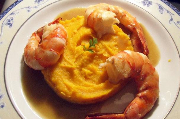 Gamberoni-con-purè-di-zucca-ricetta-parliamo-di-cucina