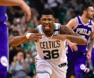 Marcus Smart aux Boston Celtics