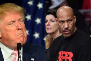 LaVar Ball s'en prend à Donald Trump le raciste