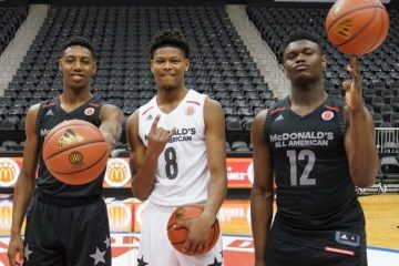 Les trois prospects de Duke lors du Mc Donalds All-American game