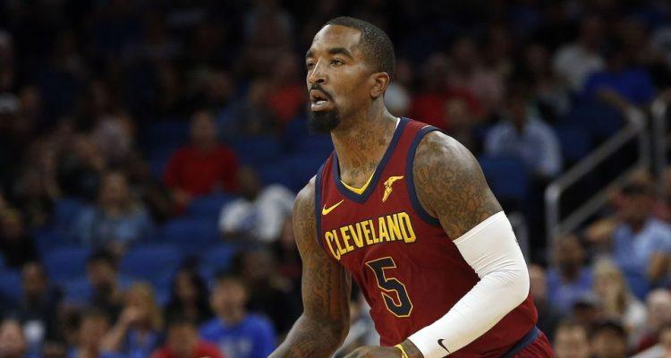 J.R. Smith sous le maillot des Cleveland Cavaliers