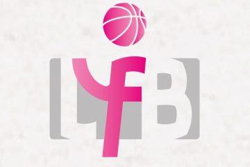 Le logo de la Ligue Féminine de Basketball.