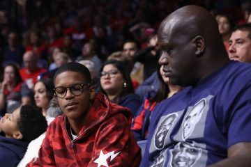 Shareef O'Neal avec son père, Shaquille O'Neal