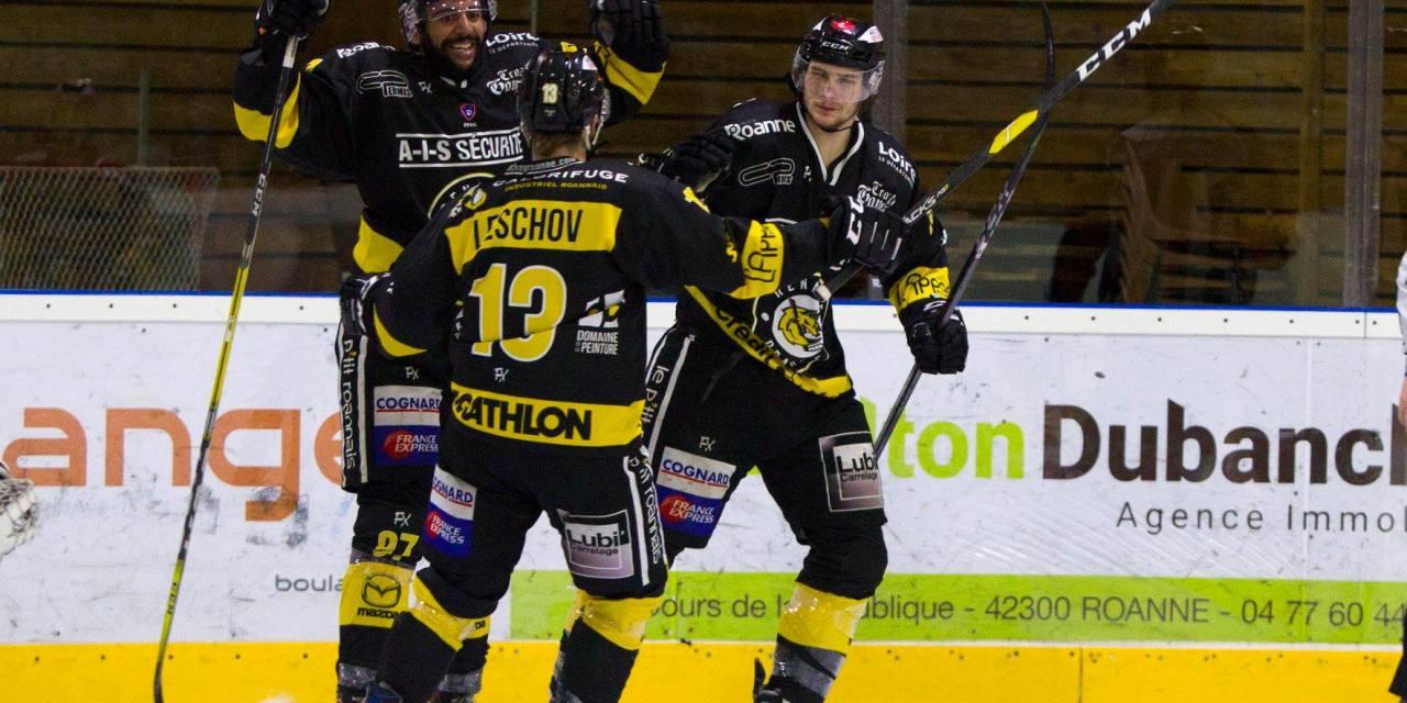 Le Roanne Hockey s'impose et fait un grand pas vers les playoffs !