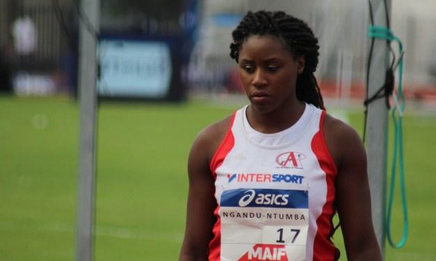 """Amanda Ngandu-Ntumba : """"Mon rêve ? Faire un podium aux Jeux Olympiques"""""""