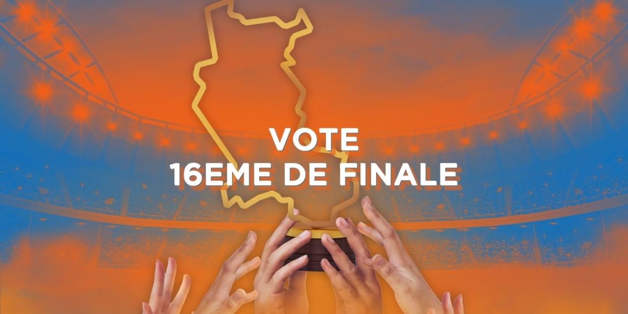 Votez pour les seizièmes de finale de la Coupe des Clubs de la Loire
