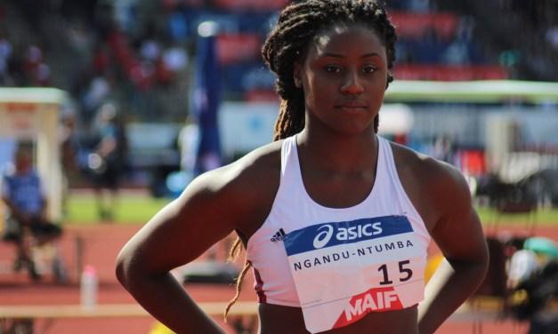 Disque : Amanda Ngandu-Ntumba (CAR Roannais) championne de France espoir et en bronze chez les élites