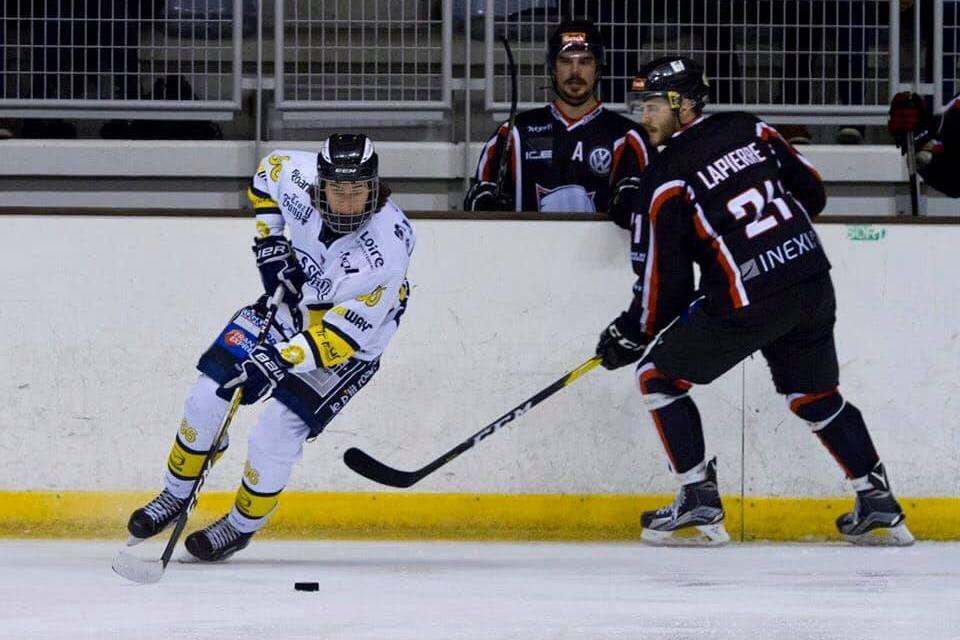 """Sulyvan Puravet (Roanne Hockey) : """"Être prêt à 100% quand ça va reprendre"""""""