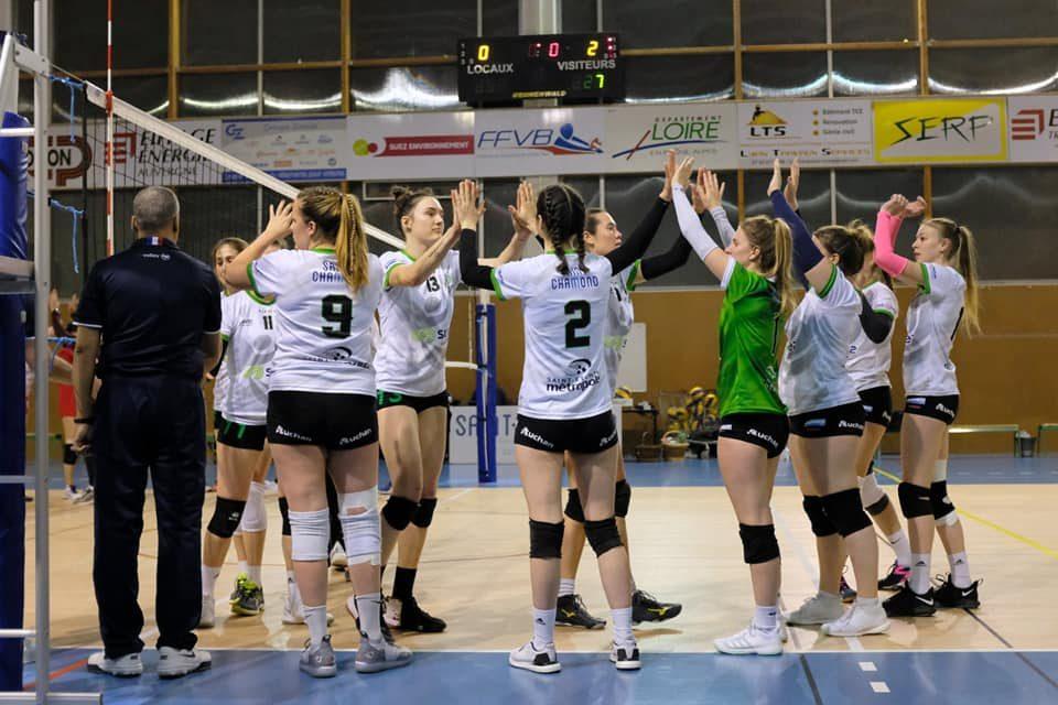 Entente Saint-Chamond Volley : Entre soulagement et inquiétude