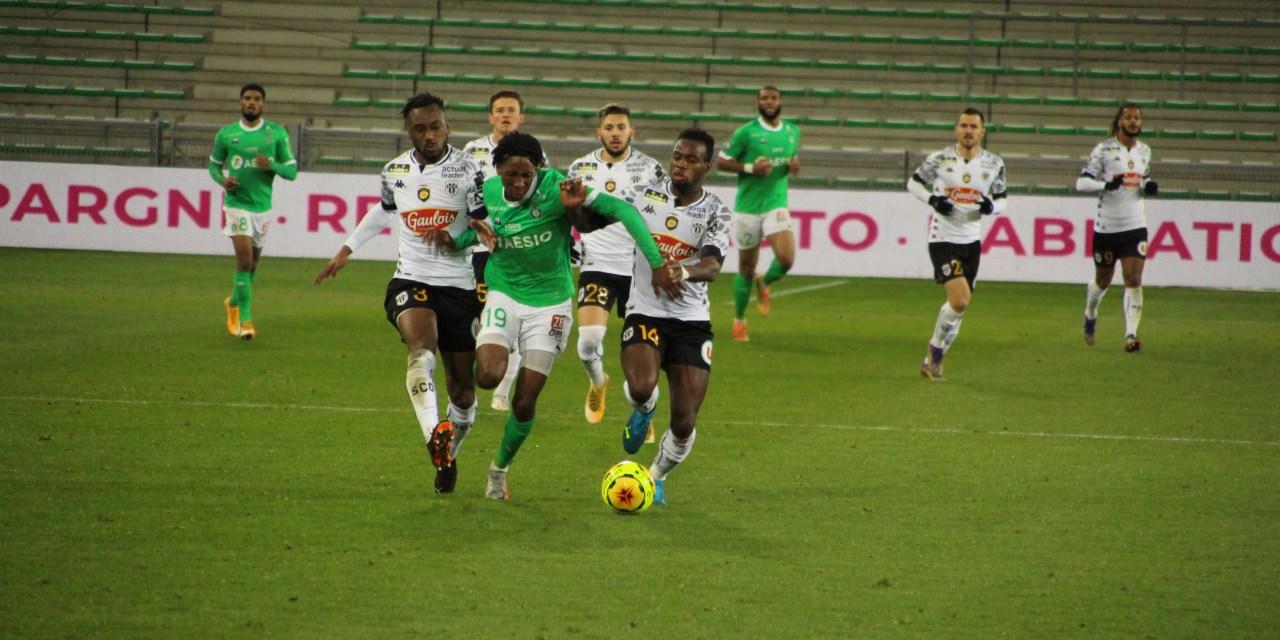 L'ASSE en danger avant le match à Angers ce samedi
