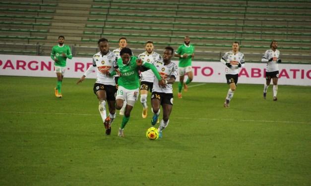 Les Verts patinent encore contre Angers