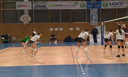 L'Entente Saint-Chamond Volley enchaîne un troisième succès en Elite