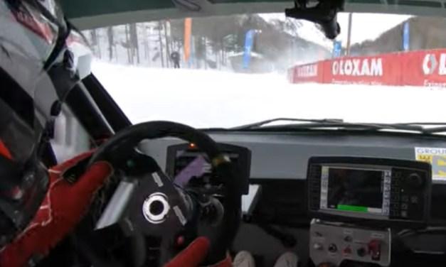 Le journaliste F1 Julien Fébreau en route avec le SaintéLoc Racing
