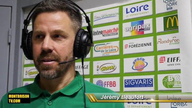 Jérémy Beaufort (BC Montbrison): «On tombe dans une lassitude»
