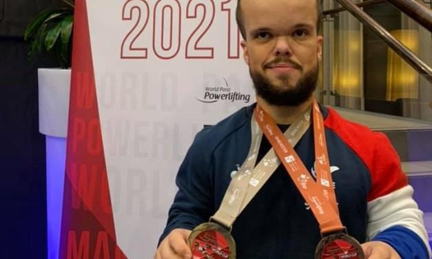 Axel Bourlon brille en Coupe du Monde d'haltérophilie !
