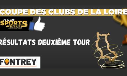 Découvrez les résultats du deuxième tour de la Coupe des Clubs de la Loire Fontrey