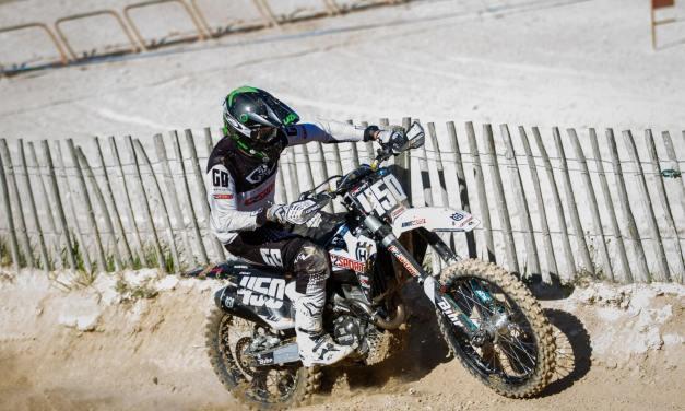 Moto : Cyril Cachet a repris la compétition en National MX2