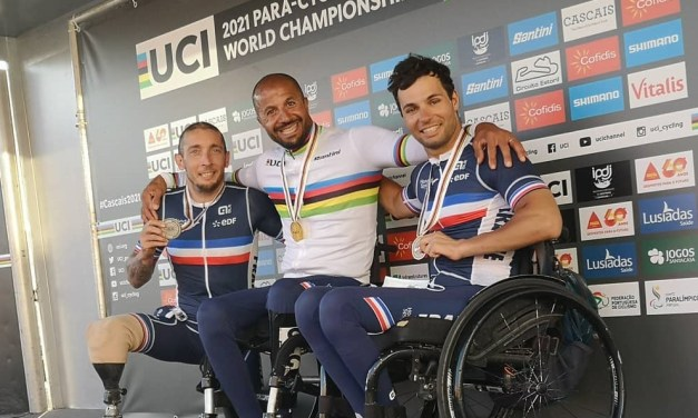 Loïc Vergnaud s'est de nouveau illustré aux Championnats du Monde de handbike