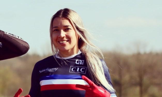 Camille Maire (Saint-Etienne BMX) réserviste des Bleues pour les Jeux cet été