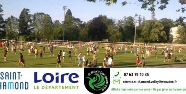 Le tournoi Green Volley de l'Entente Saint-Chamond Volley revient ce week-end