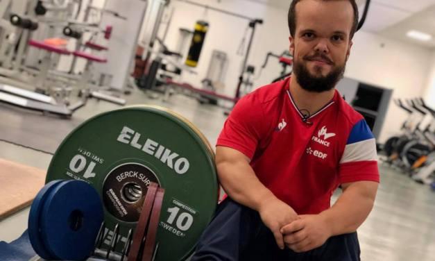 Axel Bourlon médaillé d'argent en haltérophilie !