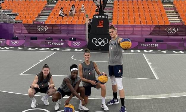 Jeux Olympiques : L'Equipe de France de 3×3 déçoit à Tokyo