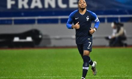 Nordin titulaire avec l'équipe de France